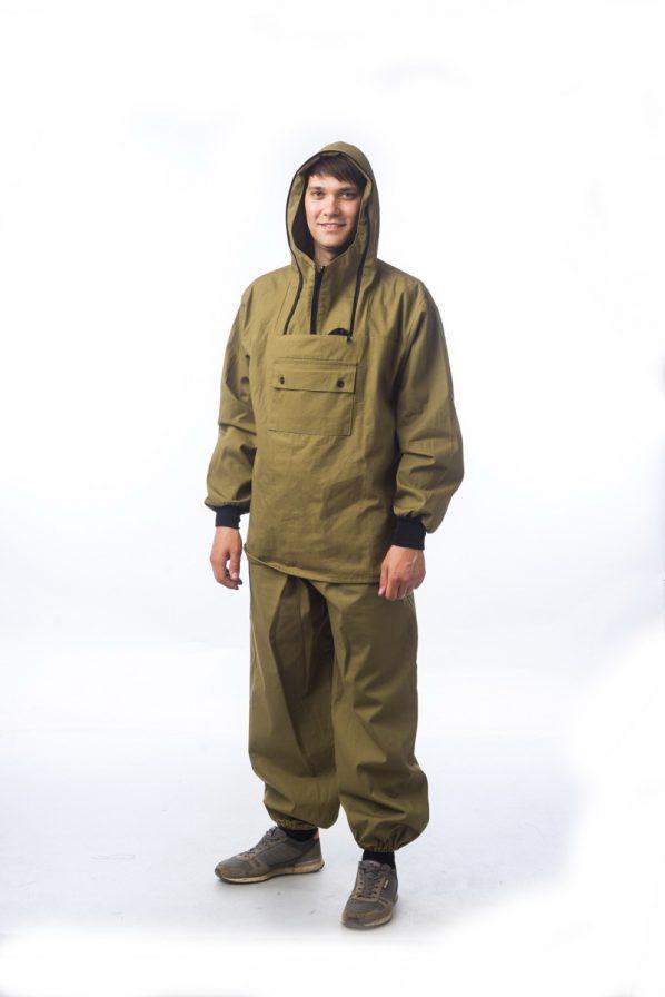 Костюм противоэнцефалитный палатка-М+ (ткань палатка) с москитной сеткой