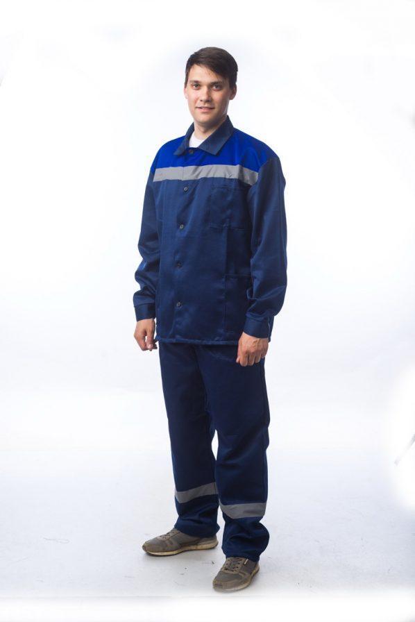 Костюм Стан-2 Соп-М+ т.синий/василек